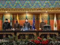 DPRD Provinsi Riau Gelar Rapat Paripurna Tentang Laporan Hasil Kerja  PANSUS Terhadap RANPERDA